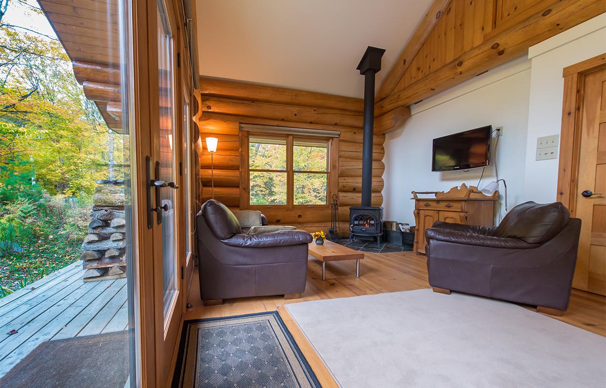 La maison du Lac Supérieur - Salle de repos